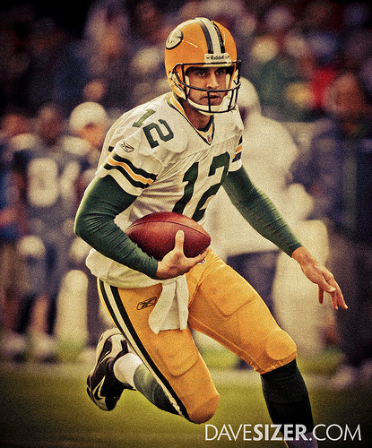 Aaron Rodgers - Throwback